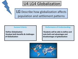 U4 LG4 Globalization