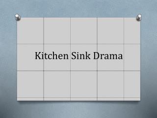 Arnold Wesker Kitchen Sink Drama