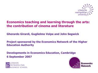 Economics teaching and learning through the arts: the contribution of cinema and literature
