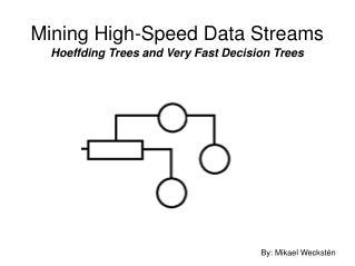 Mining High-Speed Data Streams