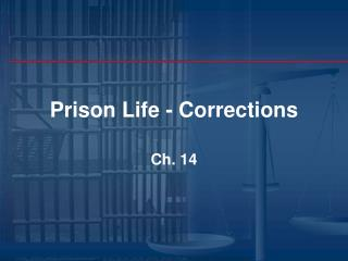 Prison Life - Corrections