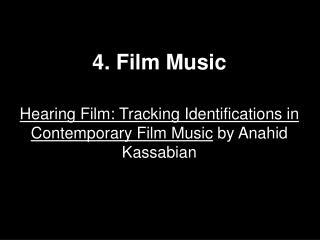 4. Film Music