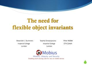 The need for  flexible object invariants