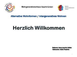 Mehrgenerationenhaus  Saarbrücken