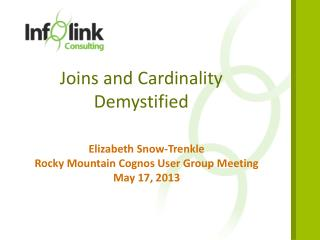 Joins and Cardinality Demystified