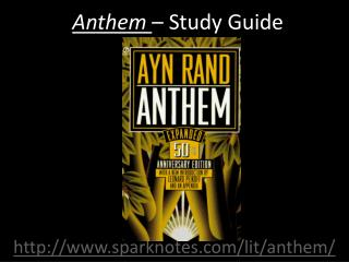 Anthem  – Study Guide