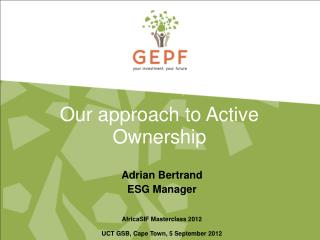 Our approach to Active Ownership