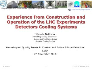 Experience  from Construction and Operation of the LHC Experiments Detectors Cooling Systems