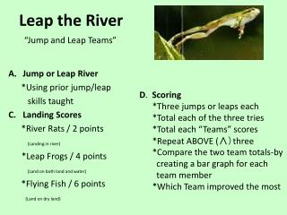 Leap the River