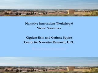 Narrative Innovations, Prato 2012