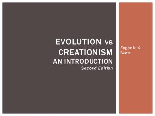 Evolution  vs Creationism An Introduction Second Edition
