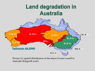 Land degradation in Australia