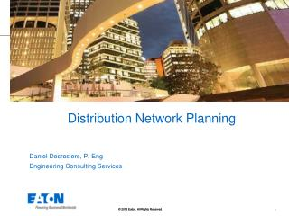Distribution Network Planning