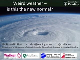 Weird weather –  is this the new normal ?