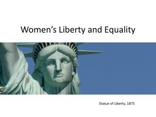Women's Liberty and Equality