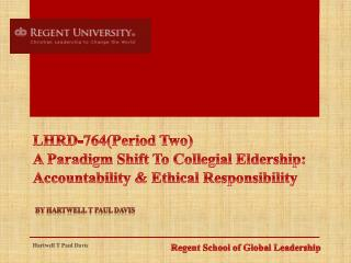 Regent School of Global Leadership