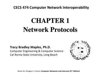CHAPTE R 1 Network Protocols