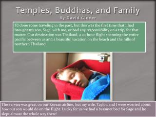 Temples, Buddhas, and Family By David Glover