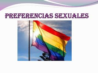 Preferencias sexuales