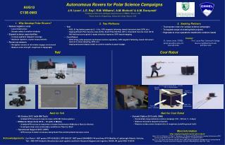 Autonomous Rovers for Polar Science Campaigns