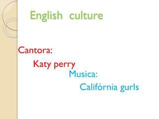 English culture