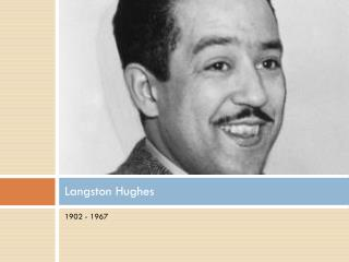 the life and accomplishments of james mercer langston hughes The son of teacher carrie langston and james nathaniel hughes, james mercer langston hughes was born in  harlem was hughes' primary home for the rest of his life.