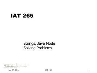 IAT 265