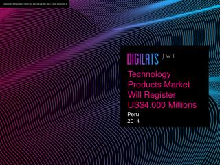 Technology  Products Market Will Register US$4.000  Millions