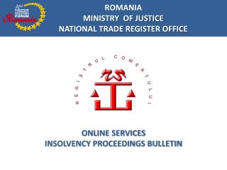 ONLINE SERVICES INSOLVENCY PROCEEDINGS BULLETIN