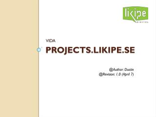 Projects.likipe.se