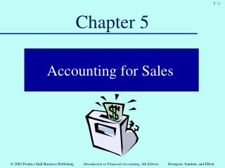 Course 5:Accounting for sales