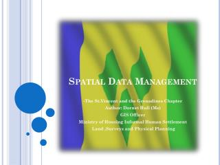 Spatial Data Management