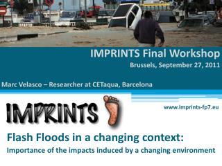 IMPRINTS Final Workshop