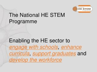 The HE STEM South West Spoke