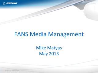 FANS Media  Management