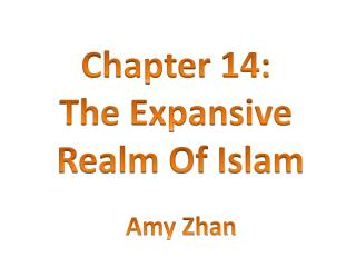 Chapter 14:  The Expansive  Realm Of Islam