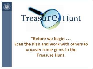 Treas u r e   Hunt