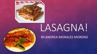 Lasagna !