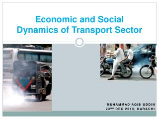 Economic and Social Dynamics of Transport Sector