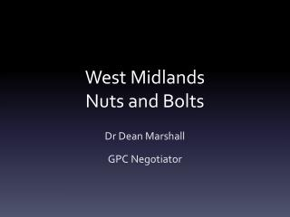 West Midlands Nuts and Bolts