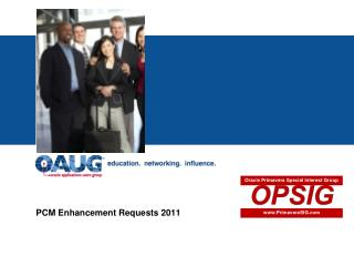 PCM Enhancement Requests 2011