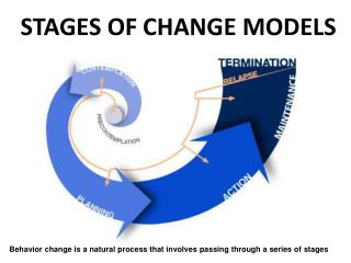 STAGES OF CHANGE  MODELS