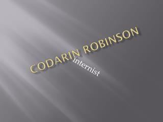 Codarin robinson