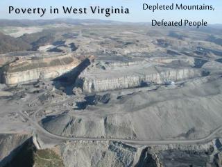 Poverty in West Virginia