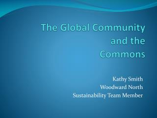 The Global Community and the  Commons