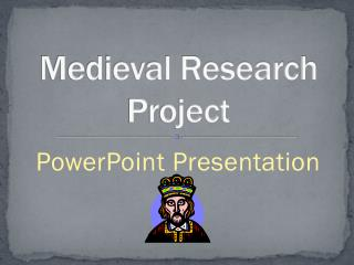 Medieval Research Project