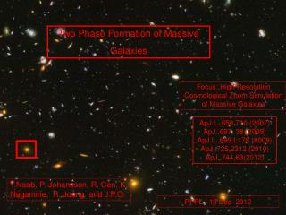 Two Phase Formation of Massive Galaxies