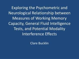 Clare Bucklin