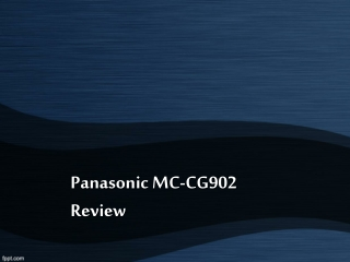 Panasonic MC-CG902 Vacuum Review