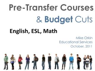Pre-Transfer Courses